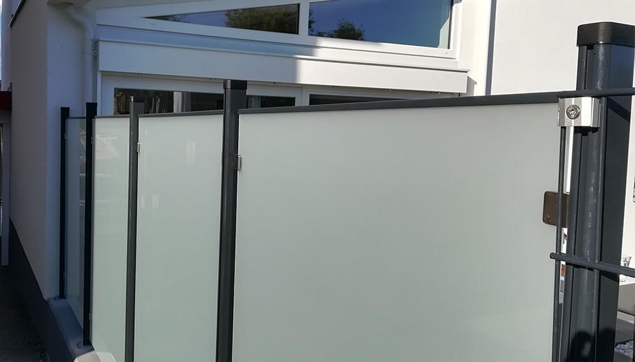 Sichtschutzzaun Pratscher Zauntechnik