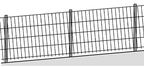 Zaunreihenfolge waagrecht Pratscher Zauntechnik